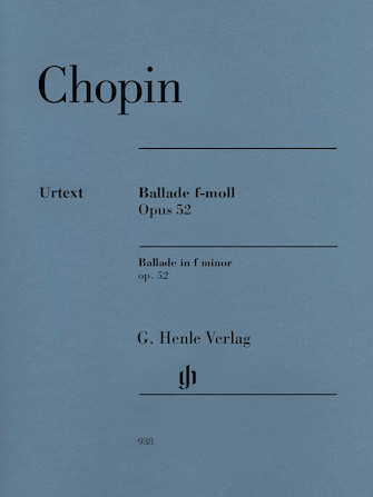 Product Cover for Ballade in F minor Op. 52