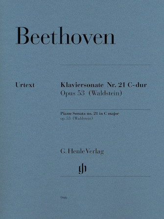 Product Cover for Piano Sonata No. 21 in C Major, Op. 53 (Waldstein)