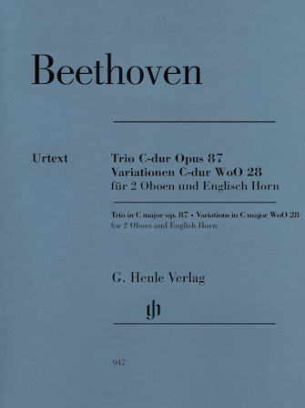 Product Cover for Trio in C Major, Op. 87/Variations in C Major, WoO 28