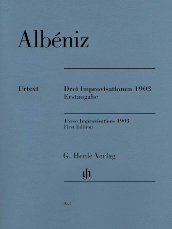Product Cover for Three Improvisations 1903