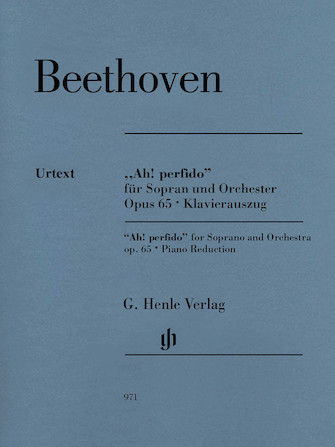 """Product Cover for """"Ah! Perfido"""" Op. 65"""