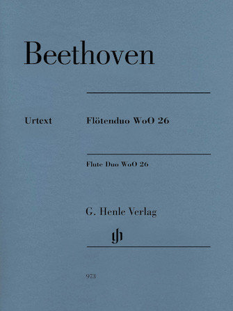 Product Cover for Flute Duo, WoO. 26
