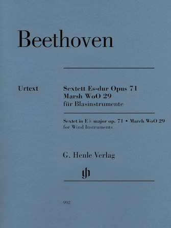 Product Cover for Sextet in E-flat Major, Op. 71 and March, WoO 29