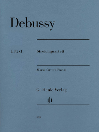 Product Cover for Claude Debussy – String Quartet