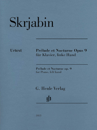 Product Cover for Prélude et Nocturne, Op. 9