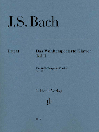 Product Cover for Well-Tempered Clavier BWV 870-893 Part II