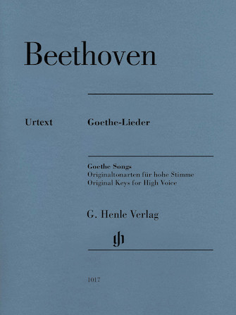Product Cover for Ludwig van Beethoven – Goethe Songs