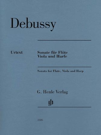 Claude Debussy – Sonata for Flute, Viola and Harp