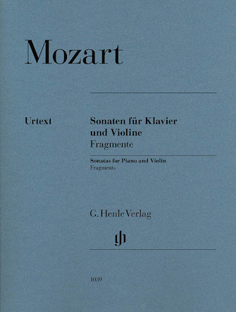 Product Cover for Violin Sonatas, Fragments