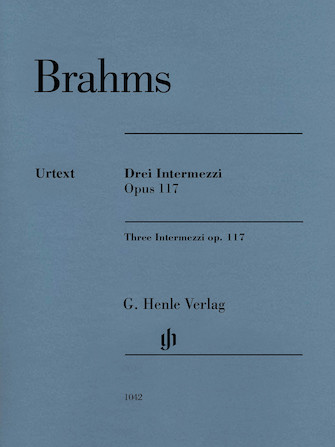 Product Cover for 3 Intermezzi, Op. 117
