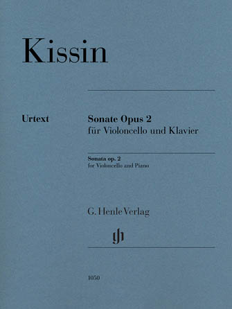 Product Cover for Cello Sonata Op. 2