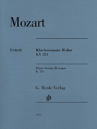 Product Cover for Piano Sonata in B-flat Major, K281 (189f)