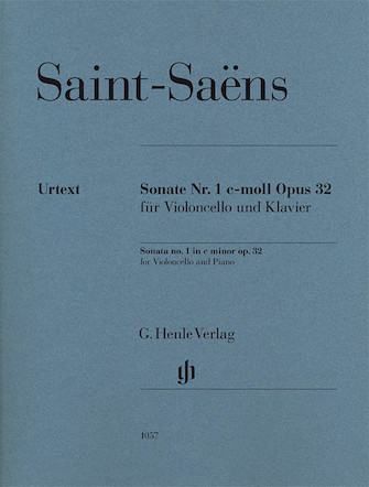 Product Cover for Camille Saint-Saëns – Sonata No. 1 in C minor, Op. 32