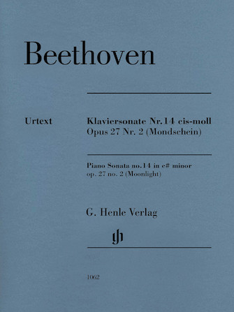 Product Cover for Piano Sonata No. 14 in C-sharp minor, Op. 27, No. 2 (Moonlight)