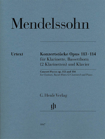 Product Cover for Concert Pieces Op. 113 and 114