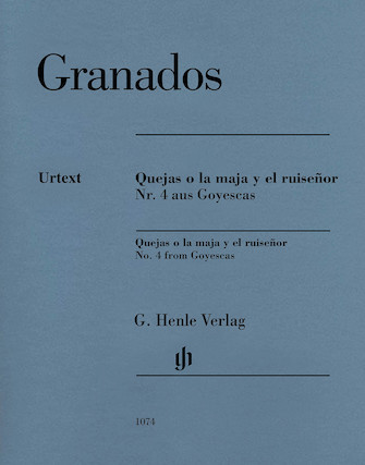 Product Cover for Quejas O La Maja Y El Ruisenor