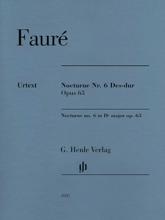 Product Cover for Nocturne No. 6 in D-Flat Major Op. 63