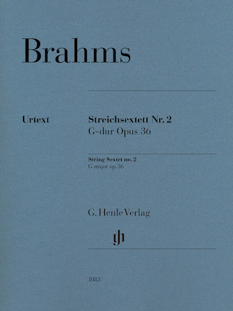 Product Cover for String Sextet No. 2 in G Major, Op. 36