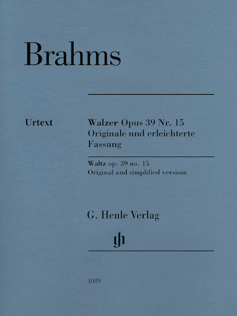 Product Cover for Waltz Op. 39 No. 15