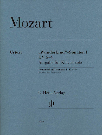 """Product Cover for Wolfgang Amadeus Mozart – """"Wunderkind"""" Sonatas, Volume 1, K. 6-9"""