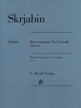 Product Cover for Piano Sonata No. 1 in F minor, Op. 6