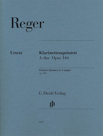 Product Cover for Clarinet Quintet in A Major Op. 146