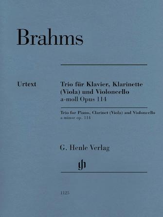 Trio in A Minor, Op. 114 – Revised Edition