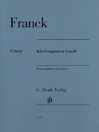 Product Cover for Piano Quintet in F minor