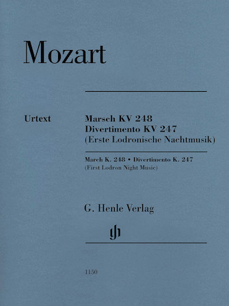 March K. 248, Divertimento K. 247 (First Lodron Night Music)