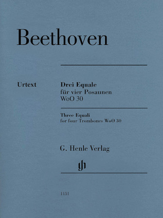 Product Cover for Ludwig van Beethoven – Three Equali, WoO 30