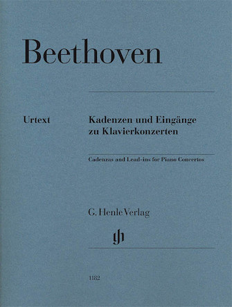 Product Cover for Ludwig van Beethoven – Cadenzas and Lead-Ins for Piano Concertos