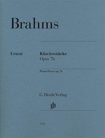 Product Cover for Piano Pieces Op. 76 Nos. 1-8