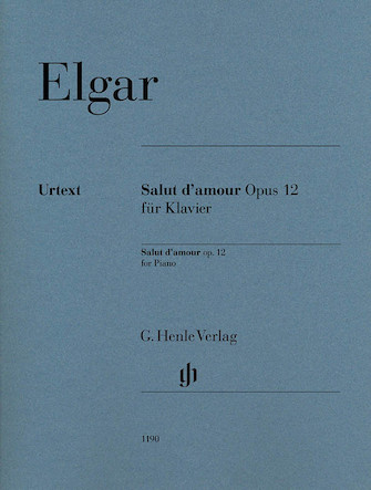 Product Cover for Salut d'amour Op. 12