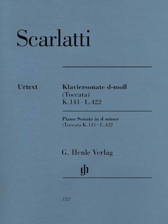 Product Cover for Piano Sonata in D Minor (Toccata) K. 141, L. 422