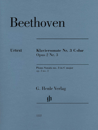 Product Cover for Piano Sonata No. 3 in C Major, Op. 2, No. 3