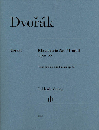 Product Cover for Piano Trio No. 3 in F minor, Op. 65