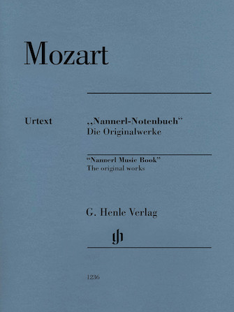 "Product Cover for Piano Pieces from the ""Nannerl Music Book"""