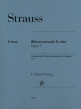 Product Cover for Serenade for Wind Instruments in E-flat Major, Op. 7