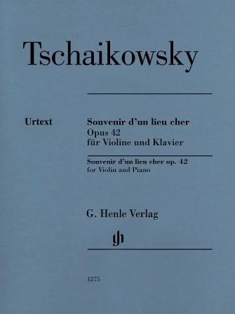 Product Cover for Souvenir D'un Lieu Cher, Op. 42