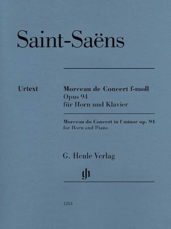 Product Cover for Morceau de Concert in F minor Op. 94