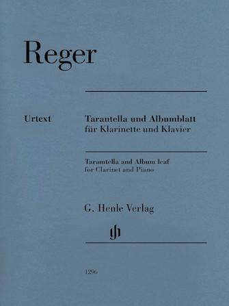 Product Cover for Tarantella and Album Leaf