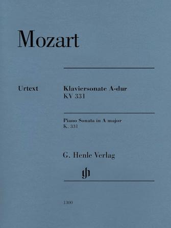Product Cover for Piano Sonata in A Major K331 (300i) (with Alla Turca)