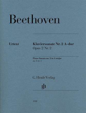Product Cover for Piano Sonata No. 2 in A Major Op. 2, No. 2
