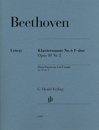 Product Cover for Piano Sonata No. 6 in F Major Op. 10, No. 2
