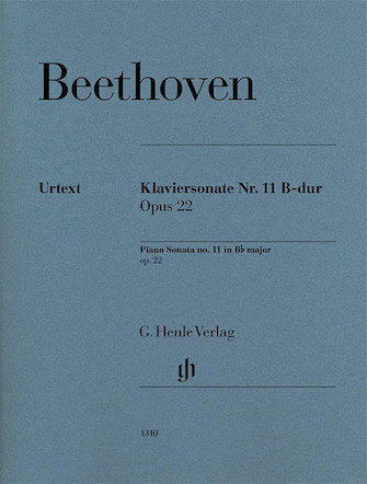 Product Cover for Piano Sonata No. 11 in B-flat Major, Op. 22