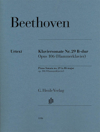 Product Cover for Piano Sonata No. 29 in B-flat Major, Op. 106 (Hammerklavier)