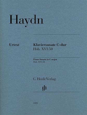 Product Cover for Piano Sonata in C Major, Hob. XVI:50