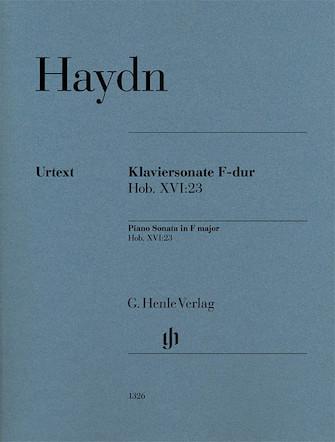 Product Cover for Piano Sonata in F Major, Hob. XVI:23