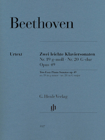 Two Easy Piano Sonatas Nos. 19 and 20, Op. 49