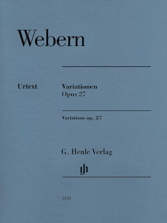 Product Cover for Variations Op. 27